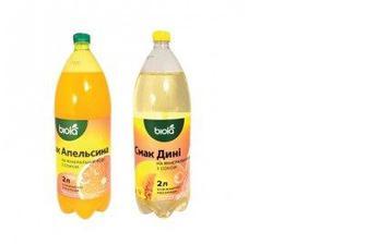 Напиток Дыня/Апельсин с соком, БІОЛА, 2л