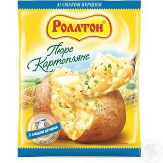 Пюре картофельное Роллтон 37 г