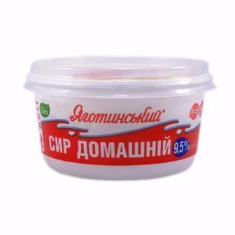 Сир кисломолочний 9,5% Яготинський  370 г
