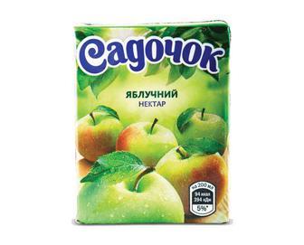 Нектар «Садочок» яблучний, 200мл