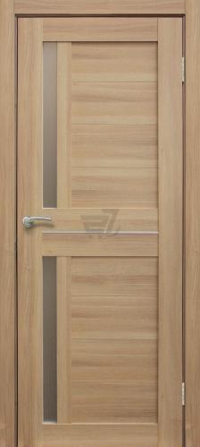 Дверне полотно ПВХ ОМіС Cortex 01 ПО 700 мм дуб тобако