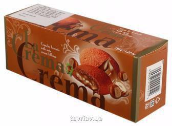 Печиво-сендвіч La Crema З какао і ванільним кремом 160 г з кокосовим кремом/ з шоколадним кремом 150г