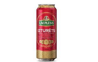 Пиво світле Lacplesis Izturets,  0,568 л