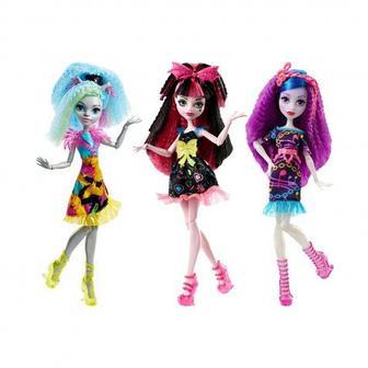 Кукла Monster High Душераздирающие Гхолы Mattel
