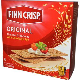 Сухарики житні з кмином, з деукількох видів зерна, тонкі з коріандром Finn Crisp 200г, 175г, 180г