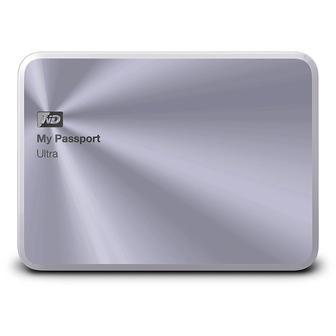HDD внешний; Western Digital My Passport Ultra Metal Edition 1Tb WDBTYH0010BSL (Original Factory Refurbished)