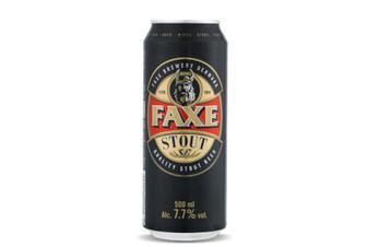 Пиво Faxe Stout темне фільтроване, 0,5л