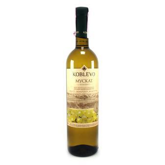 Вино Мускат Бел П/сл, 0,75 л, Коблево