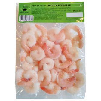 Хвости креветки Foods Delivery очищені вар-мор. 450г