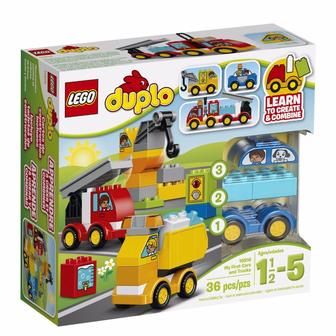 Набір Мой перші машини Lego Duplo 10816