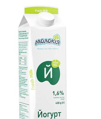 Йогурт Молокія 1,6% 430 г