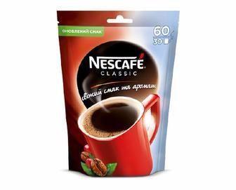 Кава розчинна Classic Nescafe 60г
