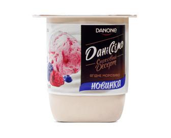 Десерт сирковий «Даніссімо» 3,2% жиру «Ягідне морозиво» 125г