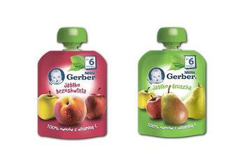 Пюре яблуко та персик/ яблуко та груша Gerber 90 г