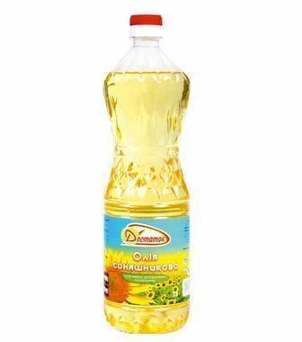Олія соншникова рафінована Достаток 0,76л