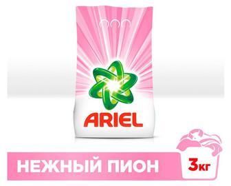 Стиральный порошок Ariel Automat Нежный пион, 3 кг