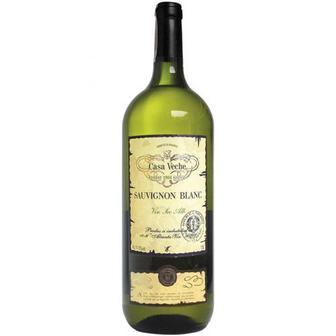 Вино Casa Veche Sauvignon Blang біле сухе 1,5л