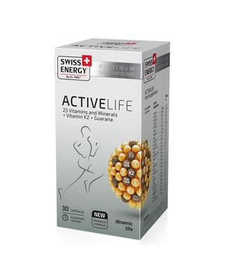 Витамины Swiss Energy ActiveLife капсулы №30
