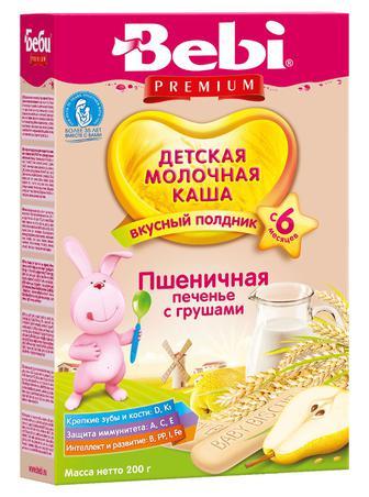 Каша Kolinska Bebi молочная Печенье с грушами с 6 месяцев 200 г