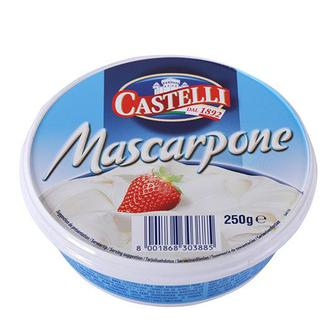Сир Маскарпоне 80% Castelli 250 г