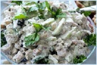 Салат Легкий в/в 100г Ен.цін 119 ккал