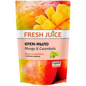 Крем-мило Fresh Juice Mango&Carambola 460мл
