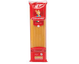 Вироби макаронні Pasta Zara Vermicelli, 500г