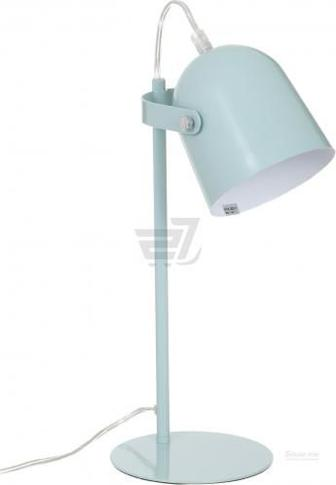 Настільна лампа офісна Accento lighting ALB-LT1806-116-BL 1x40 Вт E14 блакитний