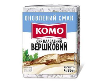 Сир плавлений «Комо» 55% вершковий, 90г
