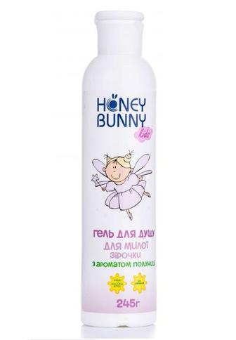Гель для душа Honey Bunny для девочек с ароматом клубнички 245 мл