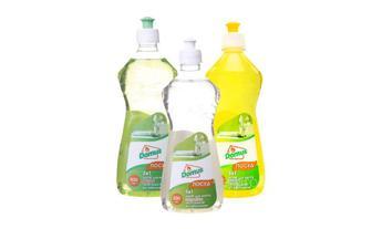 Засоби для миття посуду Лимон, Цитроніка, Яблуко Домус 500 мл