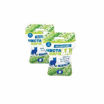 Наповнювач гігієнічний для тварин  Чиста ВигоДА! 5 кг