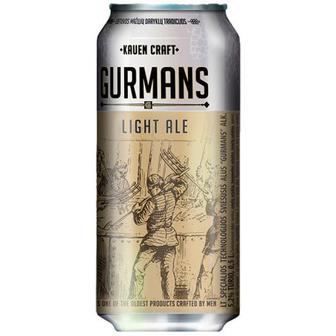 Пиво світле Gurmans 0.5л