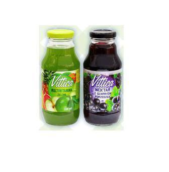 Скидка 24% ▷ НЕКТАР мультивітамін зелений, чорна смородина, 330 мл vittica