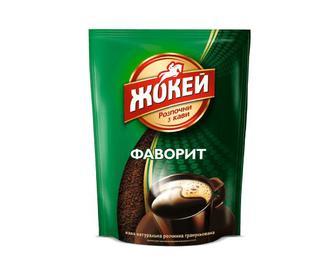 Скидка 30% ▷ Кава розчинна Жокей, Фаворит, гранульована, 65г