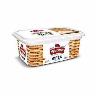 Сир м'який Фета 45% Ферма 250г