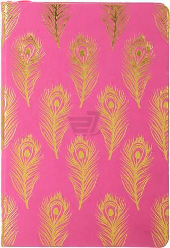 Книга для нотаток Перо A5 96 аркушів рожевий