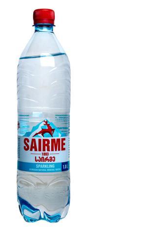 Вода мінеральна Саирме природна газована, 1 л