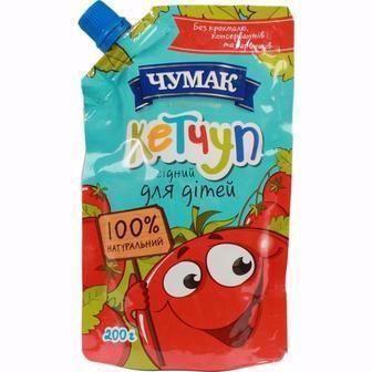 Скидка 29% ▷ Кетчуп Лагідний для дітей Чумак 200г