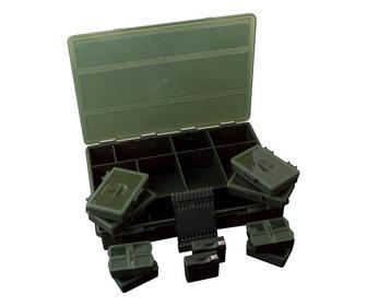 Скидка 25% ▷ Набор коробок FOX Black System Loaded Box Large