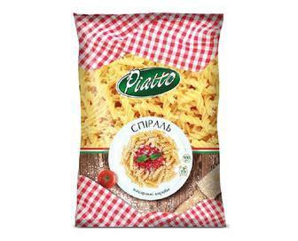 Вироби макаронні Piatto, Спіраль, 900 г