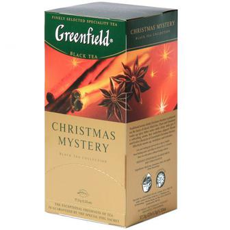 Чай Greenfield Christmas Mystery 25шт