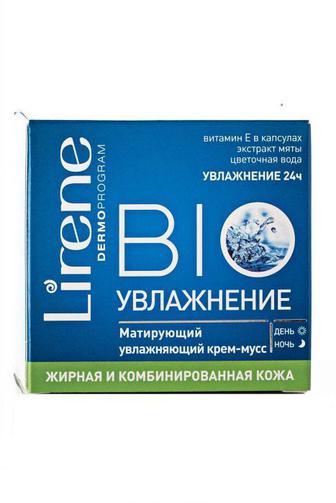 Крем Lirene BIO Увлажнение для ж/ком кожи 50мл