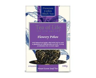 Чай Tea of Life Flowery Pekoe, 100г