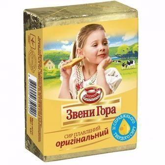 Сир плавленый порционный оригинальный Звени Гора, 90г