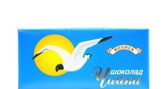 Шоколад Чайка темний молочний, Оленка молочний, 90 г, Roshen