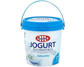 Скидка 20% ▷ Йогурт Mlekovita без наповнювача, 3% жиру, 1кг