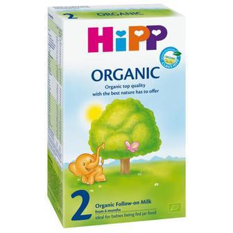 Органическая детская сухая молочная смесь HiPP Organic 2, 300мл