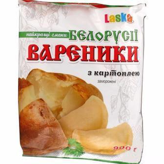 Вареники з картоплею Laska 400 г