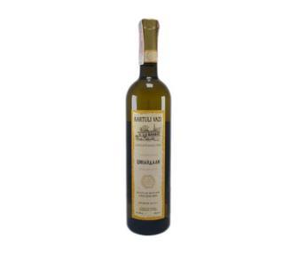 Вино Картулі Вазі Алазанська Долина червоне н/с/Цинандалі біле сухе 0,75л